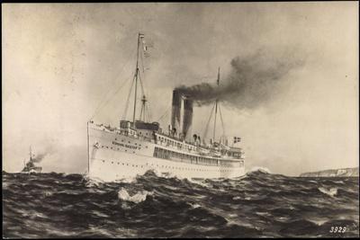 Künstler Dampfer Konung Gustaf V, Statens Järnvägar