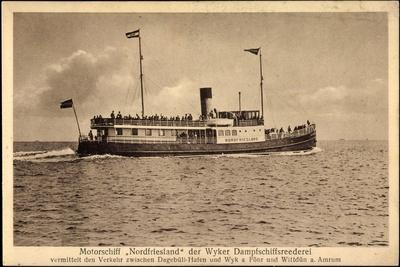 Wyker Dampfschiff Reederei, Motorschiff Nordfriesland