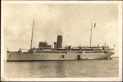 Dampfer Cobra, Passagiere, Hamburg Amerika Linie