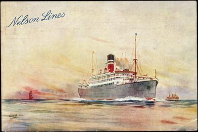 Künstler Oliver, R., Nelson Lines, Steamer
