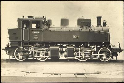 Foto Deutsche Dampflok Nr. 1384 Sachsen, 1914