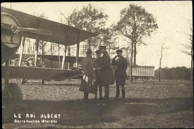 Foto Flugzeuge Militärisch, Le Roi Albert, Biplan
