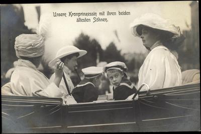 Kronprinzessin Cecilie Von Preußen, Ältester Sohn