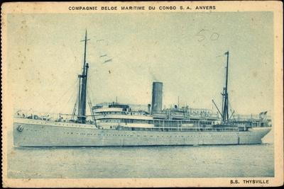 Compagnie Maritime Belge, S.S. Thysville,Dampfschiff