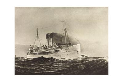 Fährschiff Drottning Victoria, Trelleborg Saßnitz