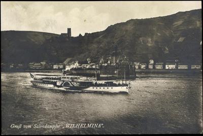 Salondampfer Wilhelmina, Niederländer Dampfschiff