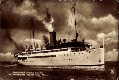 Norddeutscher Lloyd Bremen, Dampfschiff Preußen