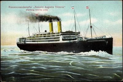 Riesendampfer Kaiserin Auguste Viktoria Der Hapag