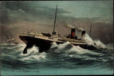 Dampfschiff La Provence, Sgtm, Transports Maritimes