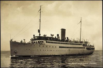 Norddeutscher Lloyd Bremen, Dampfer Preußen