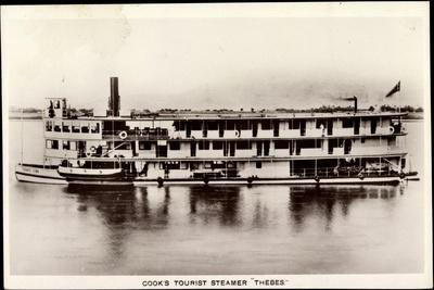Cook's Tourist Steamer Thebes, Steamboat, C 189