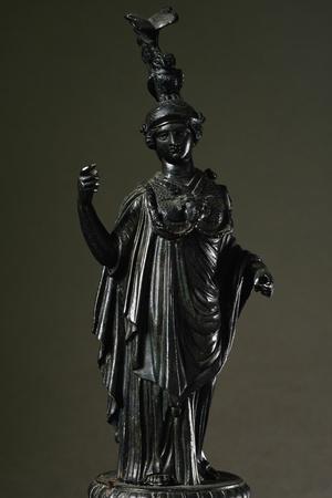 Bronze Statuette of Minerva