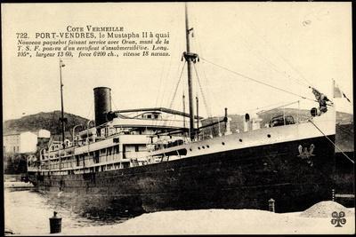 Compagnie De Navigation Mixte, Dampfer Mustapha II