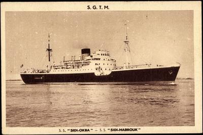 French Line Cgt, S.S. Sidi Okba, S.S. Sidi Mabrouk