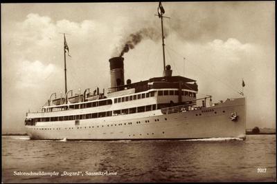 Reederei Braeunlich Stettin, Dampfer Rugard