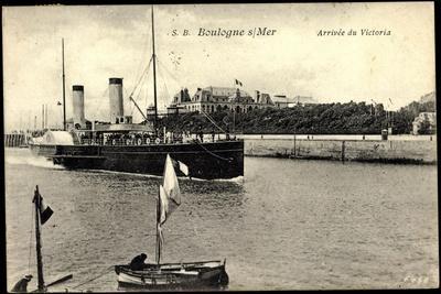 S.B. Boulogne S. Mer, Arrivée Du Victoria, Dampfer
