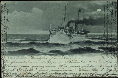 Mondschein Lloyd Bremen, Dampfer S.M.S Hohenzollern
