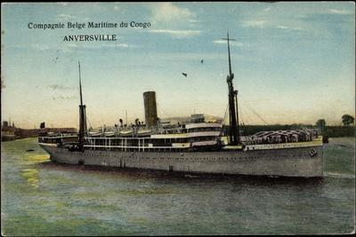 Compagnie Belge Maritime Du Congo, Cbmc, Anversville