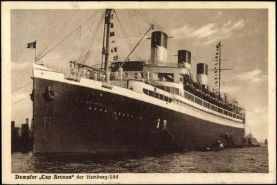 HSDG, Dampfschiff Cap Arcona, Hamburg Süd Reederei