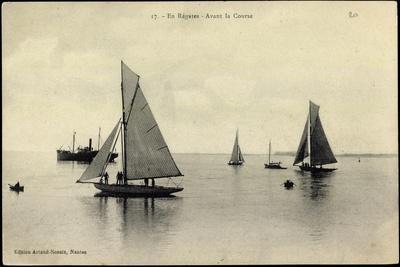 En Régates, Avant La Course, Segelboote, Regatta