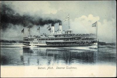 Detroit Michigan, Steamer Tashmoo, Raddampfer
