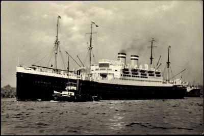 Dampfer Albert Ballin, Begleits, Hamburg Amerika Linie