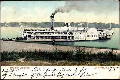 Louisville Kentucky, Steamer Louisville, Dampfschiff