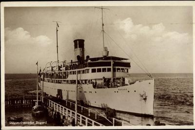 Reederei Braeunlich Stettin, Rügen Dampfer Rugard