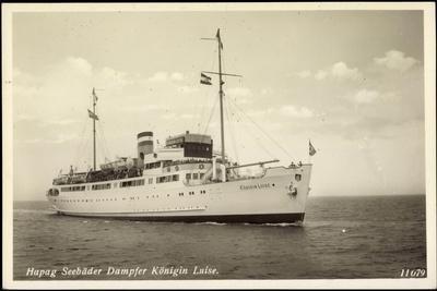 Hapag, Seebäderdienst, Dampfer Königin Luise