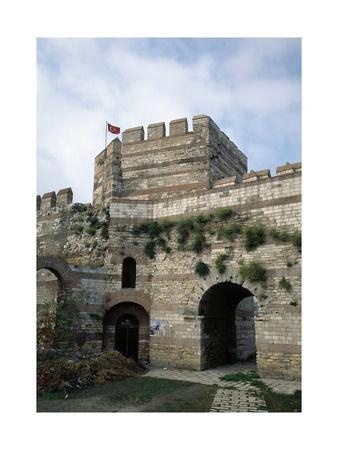 Turkey, Istanbul, Gate of Christ, First Military Gate