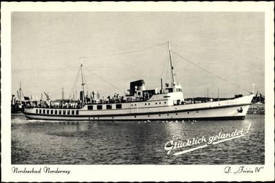 Reederei Norden Frisia, Dampfer Frisia IV, Norderney