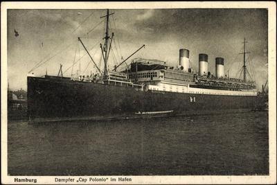 Hamburg, HSDG, Dampfer Cap Polonio Im Hafen