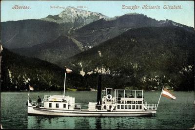 Abersee Salzburg, Dampfer Kaiserin Elisabeth