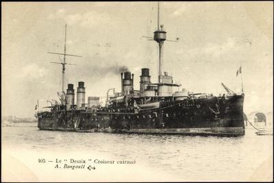 Le Desaix Beim Einlauf in Den Hafen, Kriegsschiff