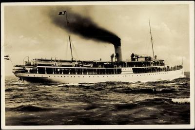 Reederei Braeunlich Stettin, Dampfschiff S.S. Hertha
