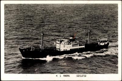 Fliegeraufnahme Vom Dampfschiff M.S. Minerva