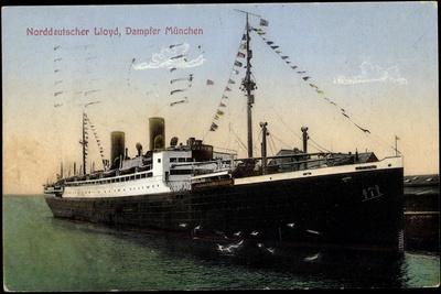 Norddeutscher Lloyd Bremen, Dampfer München
