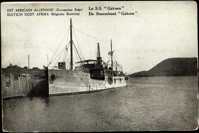 S.S. Götzen, Deutsch Ost Afrika Linie, Doal, Dampfer