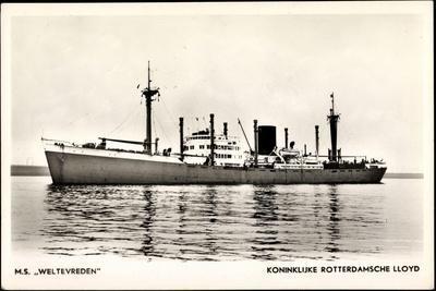 Dampfer M.S. Weltevreden , Rotterdamsche Lloyd