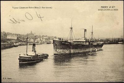 Boulogne Sur Mer, Dampfer Lieutenant Robert Mory