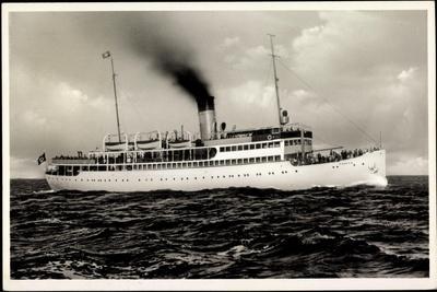 Ostsee Dampfer S.S. Rugard, Dampfer, Fährschiff
