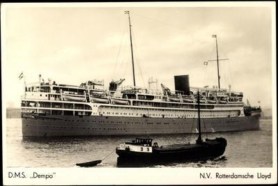 Dampfer D.M.S. Dempo, Rotterdamsche Lloyd