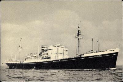 Dampfer M.V. Dongedyk, Holland America Line