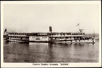 Cook's Tourist Steamer Sudan, Steamboat, Ferry