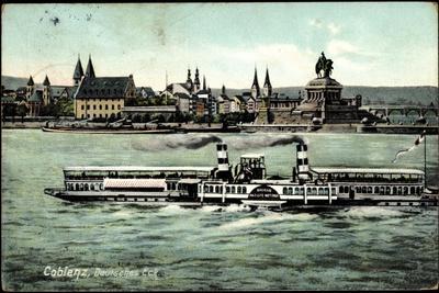 Dampfer Kaiserin Auguste Victoria, Deutsches Eck
