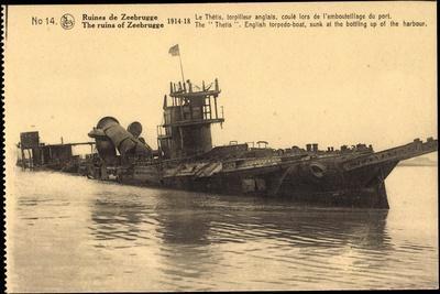 Kriegsschiffe, Englisches Torpedo Schiff
