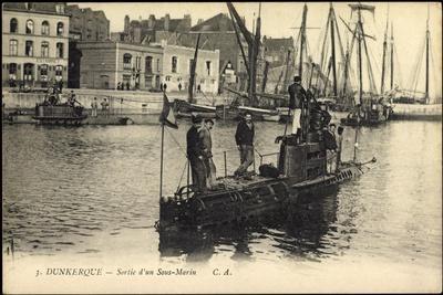 Französisches U Boot, Dunkerque, Sous Marin