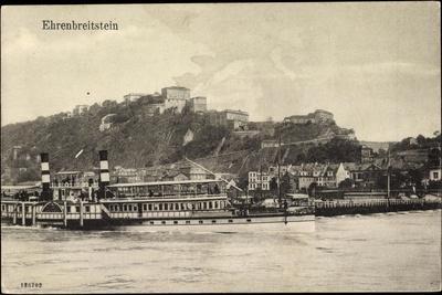 Koblenz Ehrenbreitstein, Dampfer Wilhelm