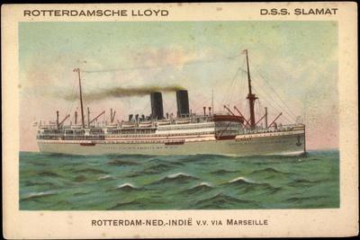 Rotterdamsche Lloyd, D.S.S. Slamat, Dampfschiff