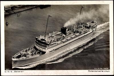 Dampfer D.M.S. Baloeran, Rotterdamsche Lloyd
